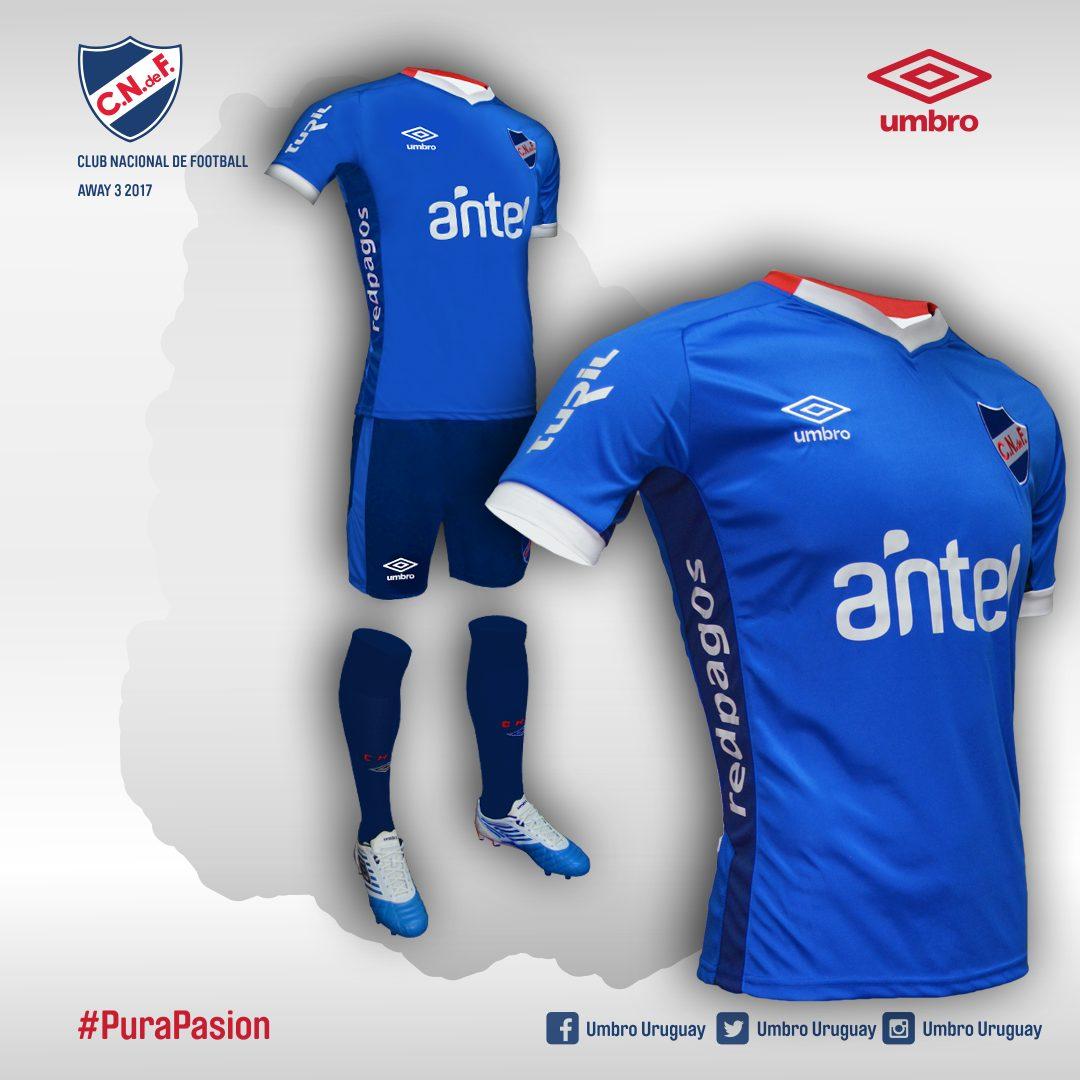 Nueva camiseta suplente de Nacional | Foto Web Oficial