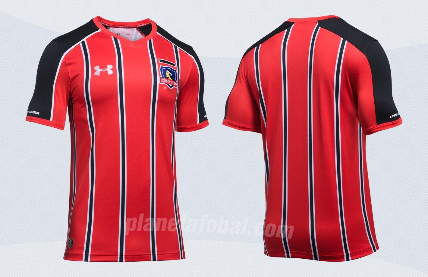 Nueva camiseta del Colo-Colo | Imágenes Under Armour