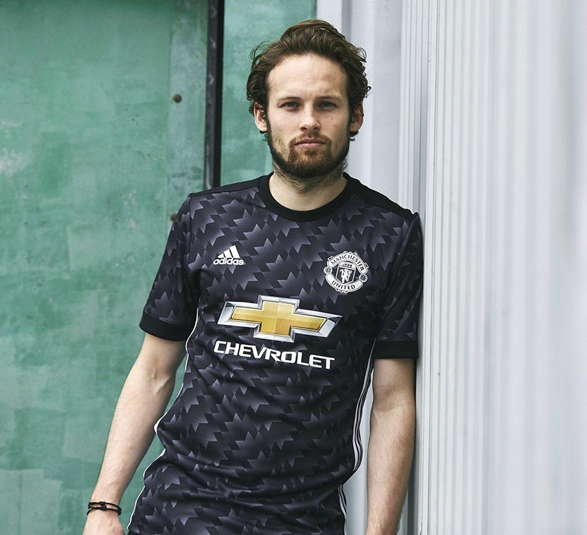 aa3abc73a Camiseta suplente Adidas del Manchester United 2017 2018