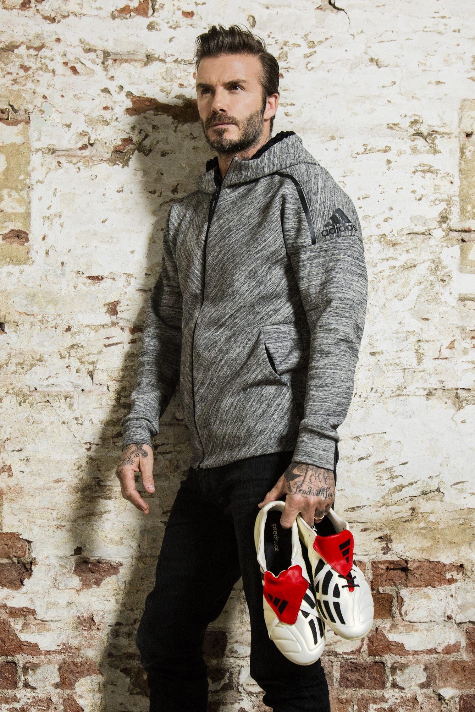 David Beckham con los Predator Mania | Foto Adidas