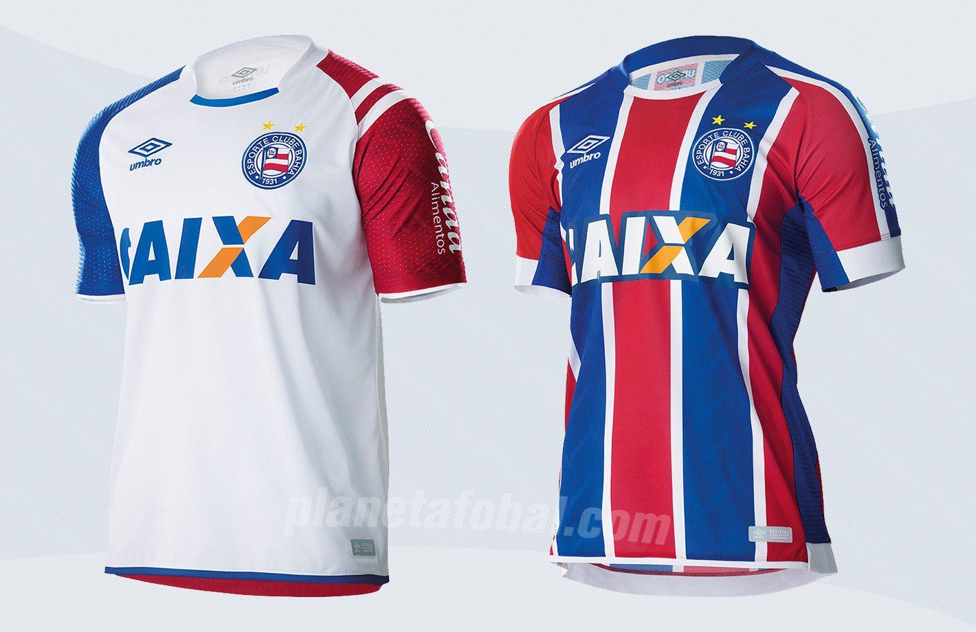 Nuevas camiseta del EC Bahia | Imágenes Web Oficial