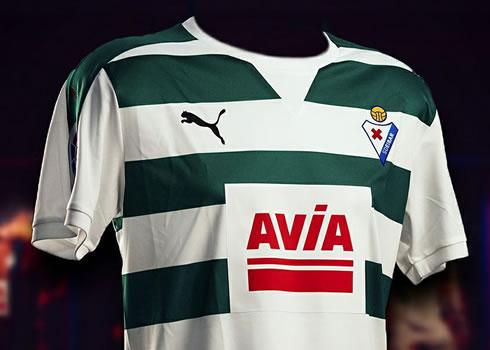 Nueva camiseta del SD Eibar | Foto Captura