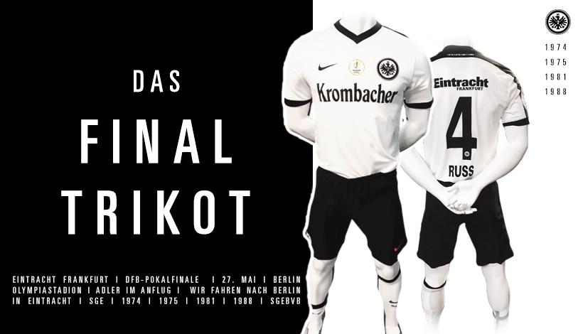 Camiseta especial del Eintracht Frankfurt   Imágenes Web Oficial