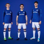 Nueva camiseta titular del Everton FC | Foto Web Oficial