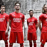 Nueva camiseta titular del FC Twente | Foto Web Oficial