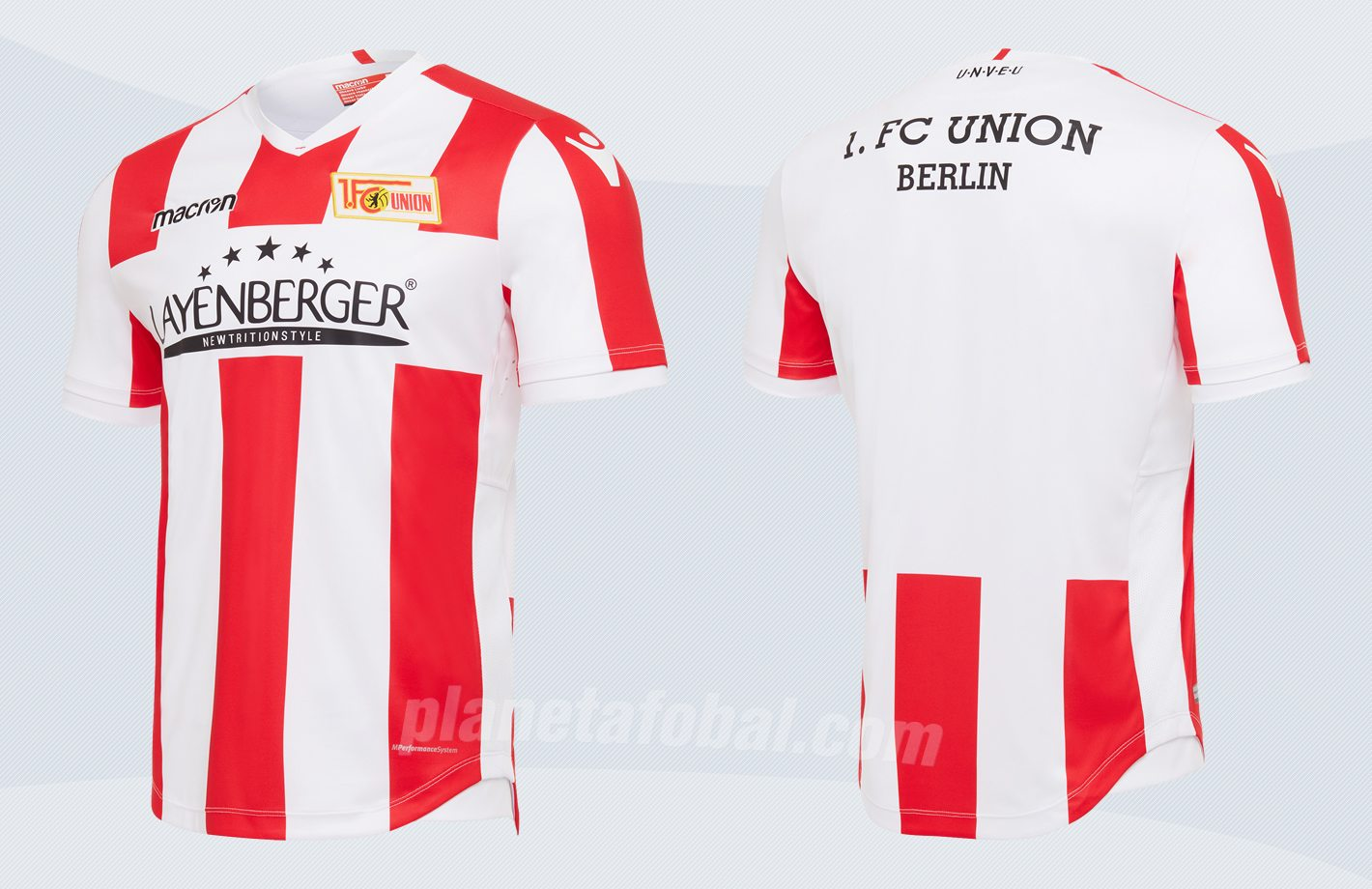 Nueva camiseta titular del Unión Berlín | Imágenes Macron