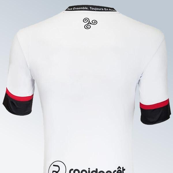 Camiseta alternativa blanca del Guingamp | Foto Web Oficial