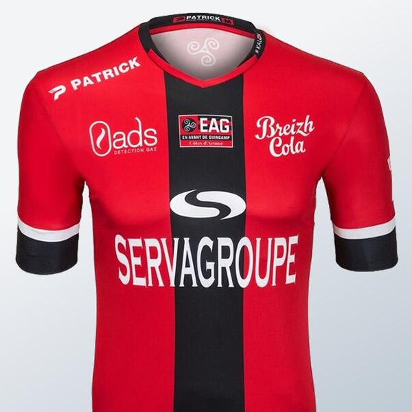 Camiseta titular del Guingamp | Foto Web Oficial