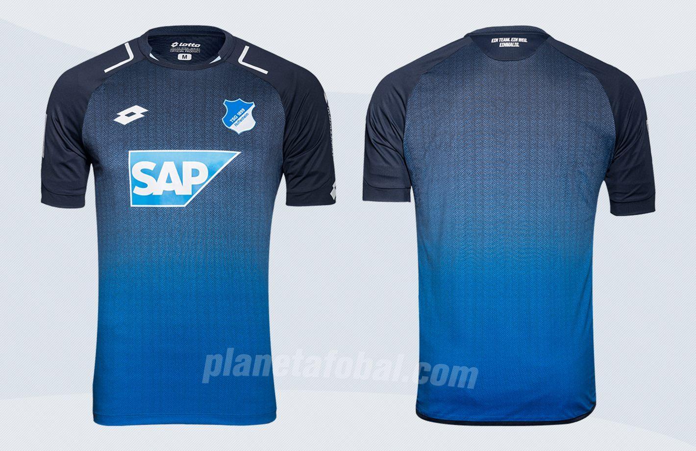 Nueva camiseta del TSG 1899 Hoffenheim | Imágenes Web Oficial