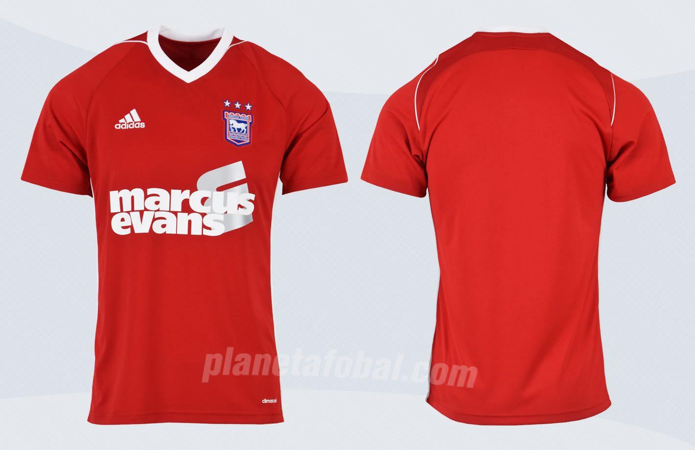 Camiseta suplente 2017-18 del Ipswich Town | Imágenes Web Oficial