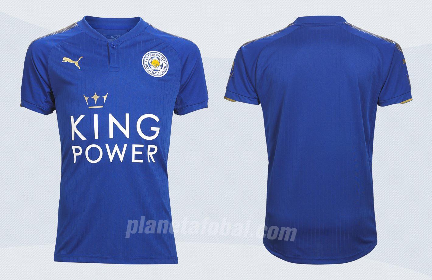 Nueva camiseta titular del Leicester City | Imágenes Web Oficial