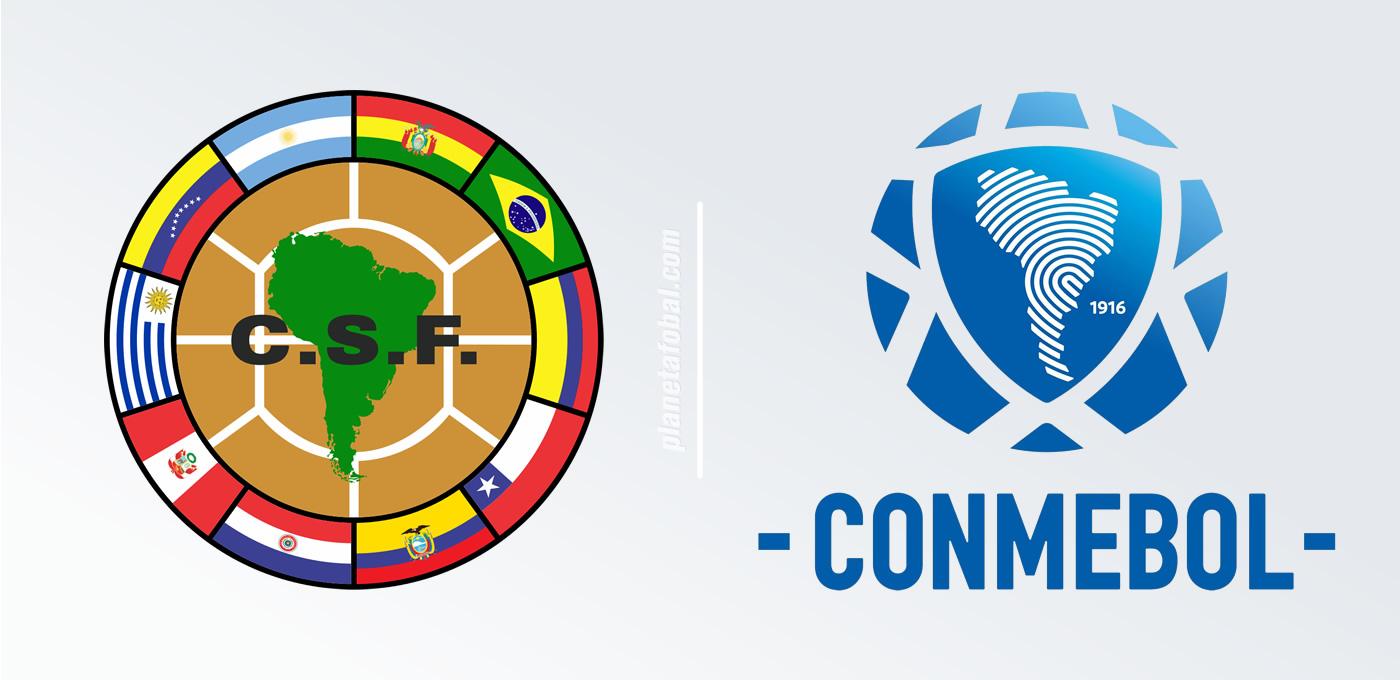 El anterior y el nuevo | Imágenes CONMEBOL