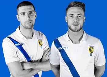Camiseta suplente del Vitesse Arnhem   Foto Web Oficial