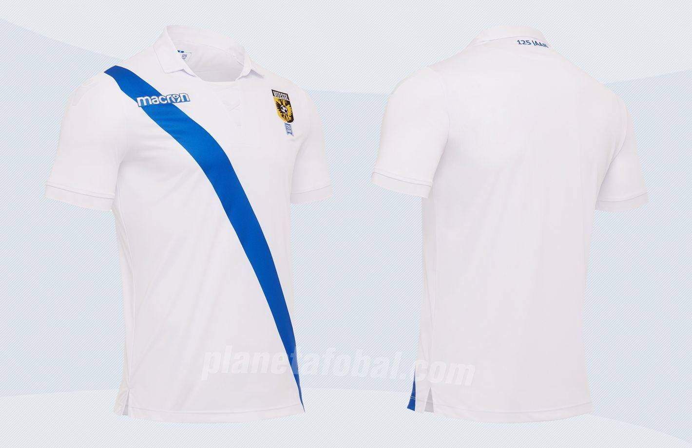 Camiseta suplente del Vitesse Arnhem | Imágenes Macron