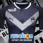 Nueva camiseta del Girondins de Bordeaux | Foto Web Oficial