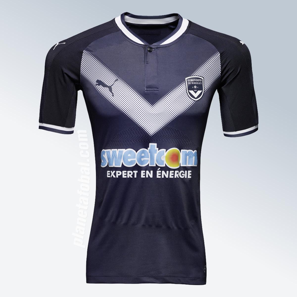 Nueva camiseta del Girondins de Bordeaux | Imagen Web Oficial