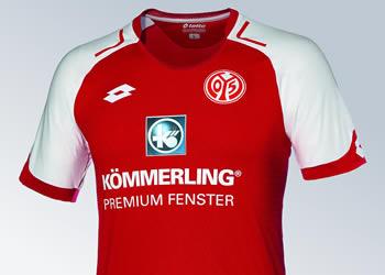 Nueva camiseta titular del Mainz 05 | Foto Captura