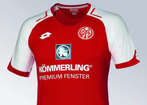 Nueva camiseta titular del Mainz 05   Foto Captura
