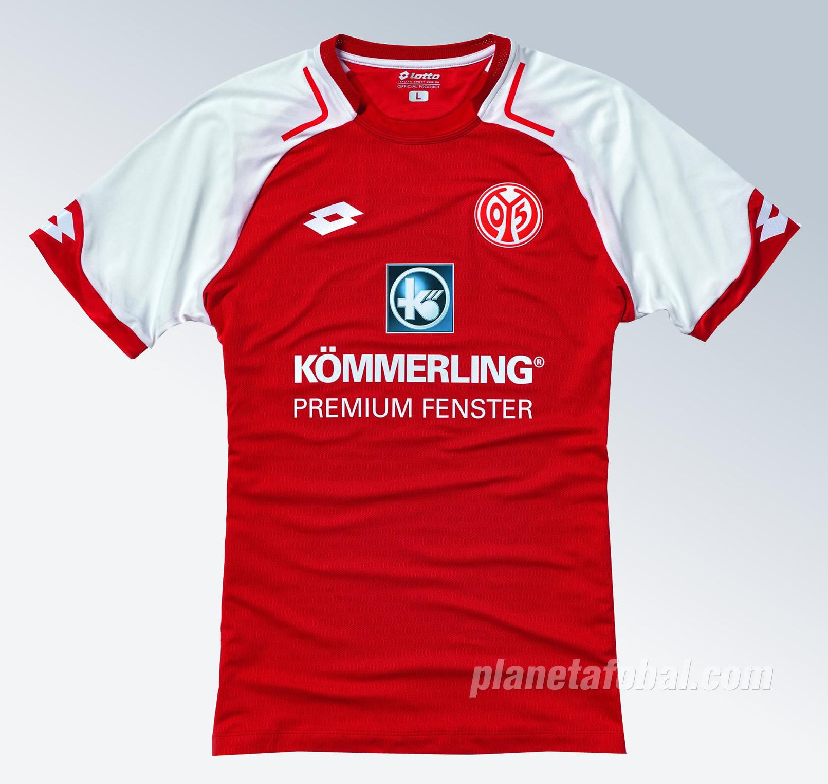 Nueva camiseta titular del Mainz 05 | Foto Web Oficial