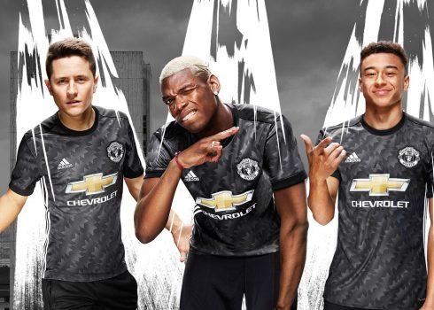 Nueva camiseta suplente del Manchester United | Foto Web Oficial