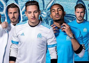 Camisetas del Marsella | Foto Web Oficial