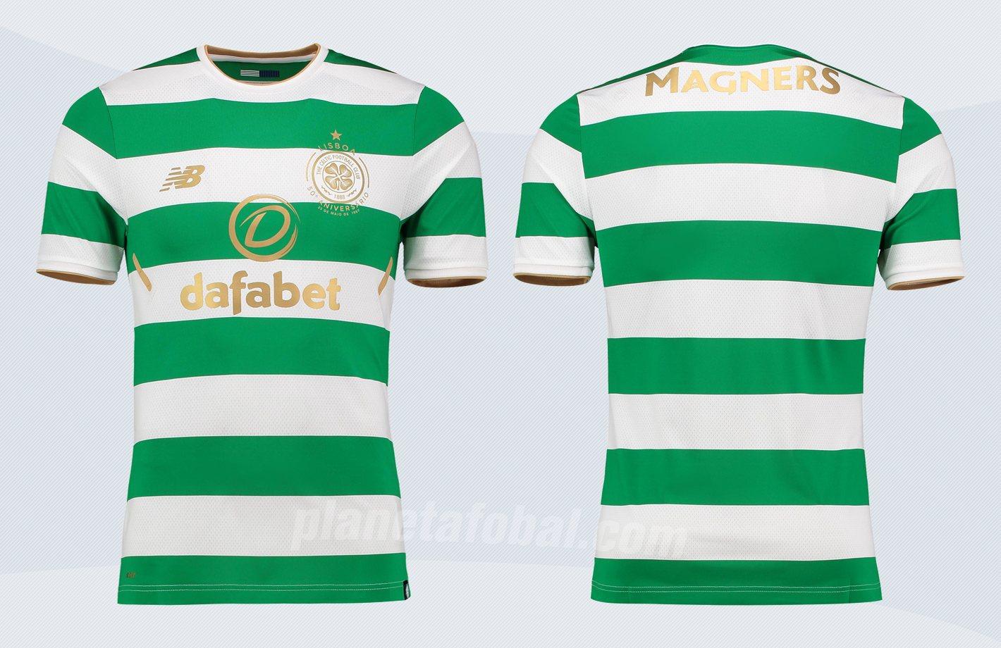 Camiseta titular 2017/18 del Celtic de Escocia   Imágenes Web Oficial