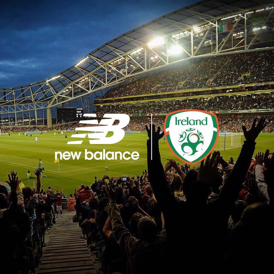 La selección de Irlanda será vestida por Umbro | Foto Web Oficial