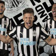 Nueva camiseta del Newcastle United FC | Foto Web Oficial