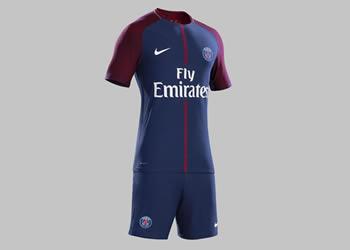 Nueva camiseta del PSG 2017-18 | Foto Nike