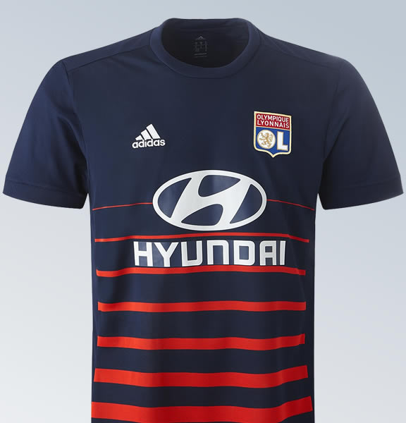 Camiseta suplente del Lyon | Imagen Web Oficial