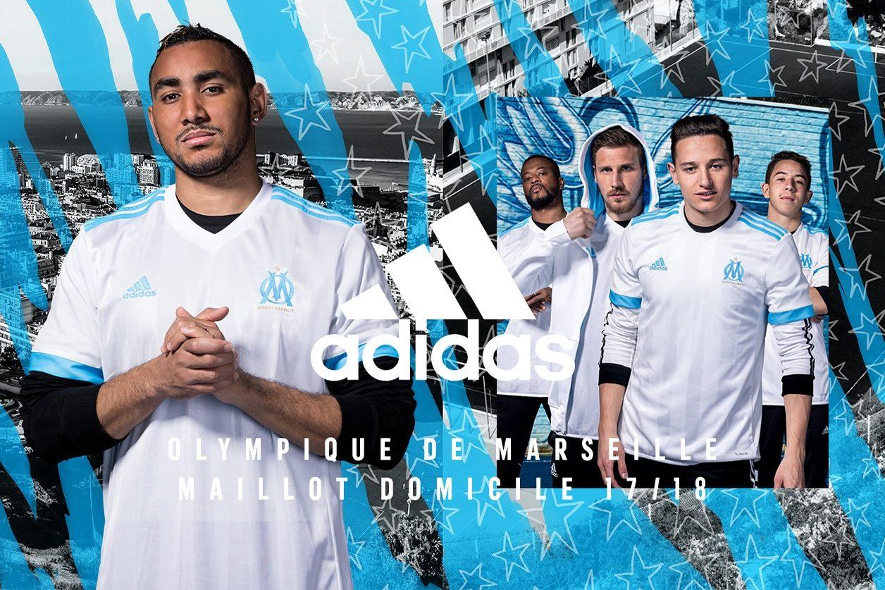 Camiseta titular Adidas del Marsella | Foto Web Oficial