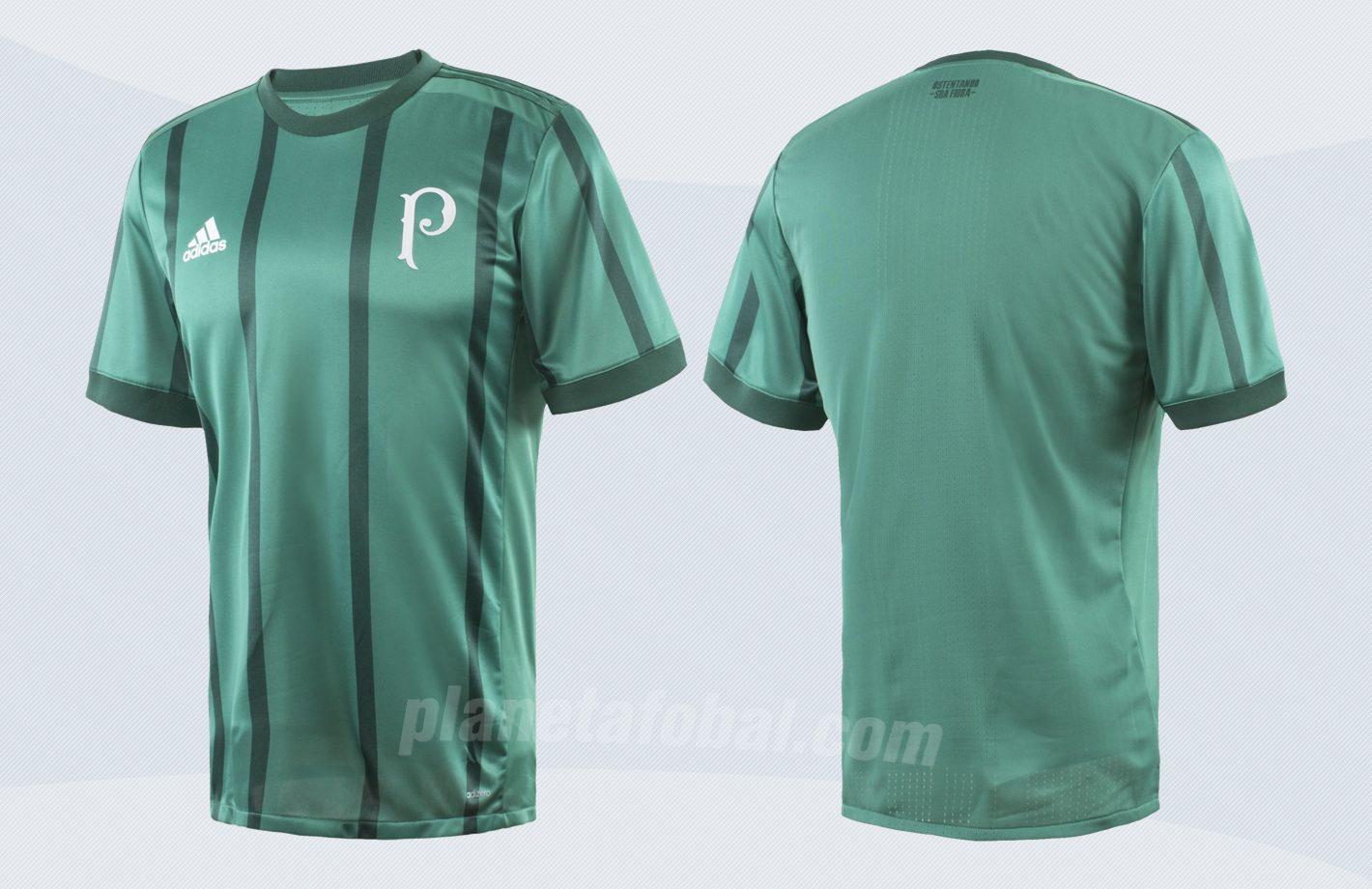 Nueva camiseta titular del Palmeiras | Imágenes Adidas