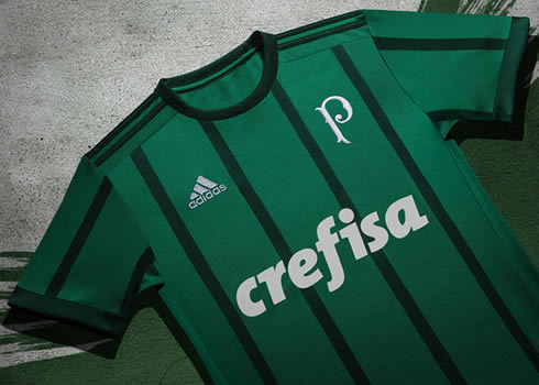 Nueva camiseta titular del Palmeiras | Foto Adidas