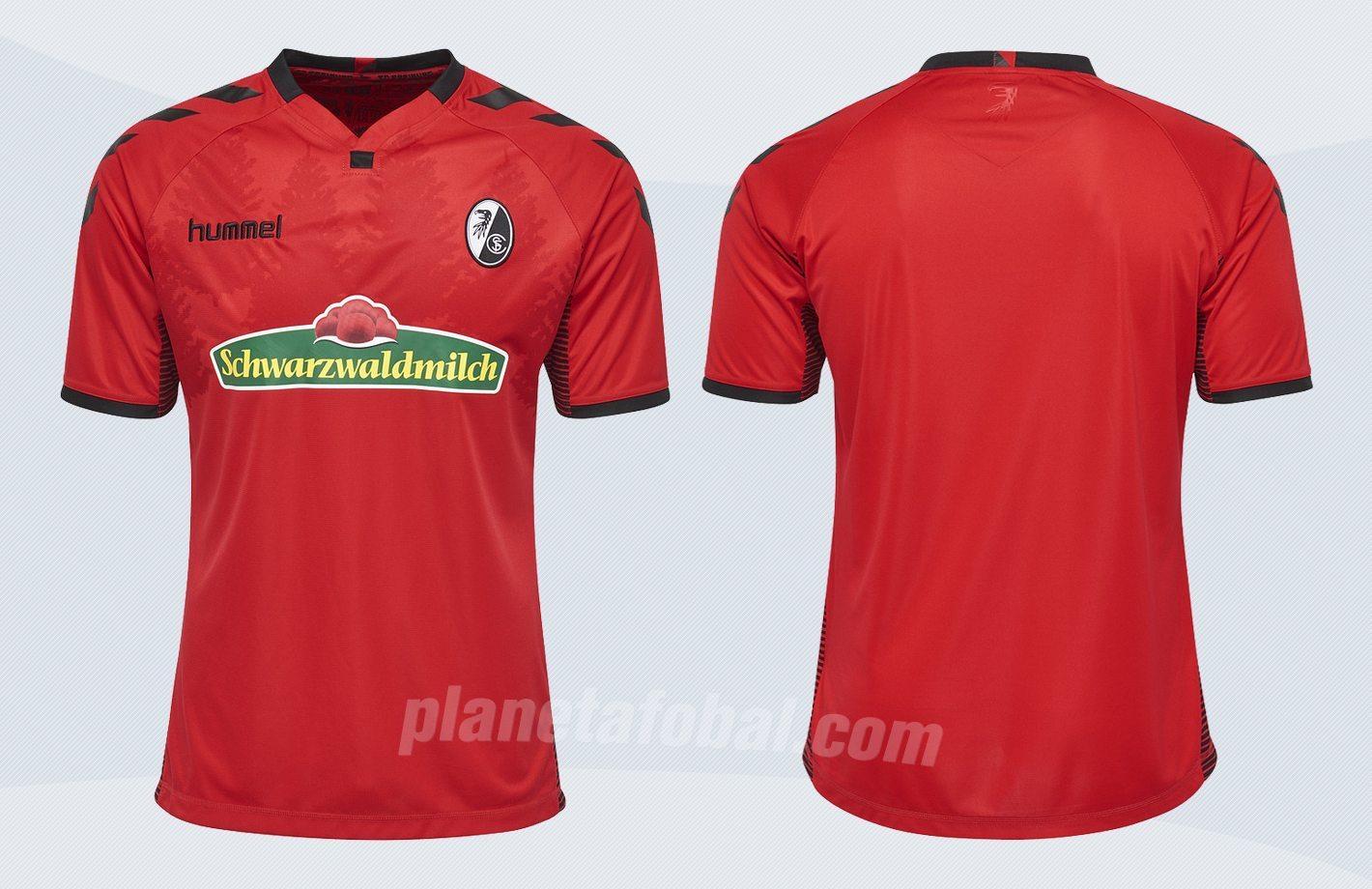 Nueva camiseta del SC Freiburg | Imágenes Web Oficial
