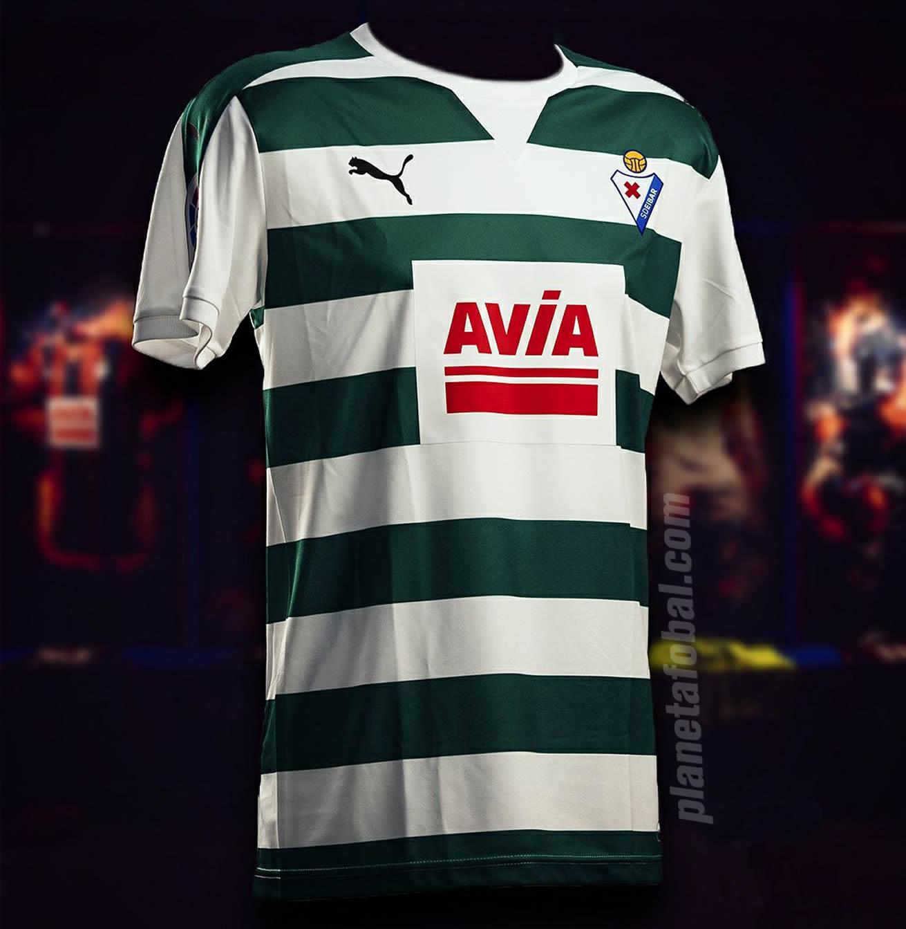 Nueva camiseta del SD Eibar | Foto Web Oficial