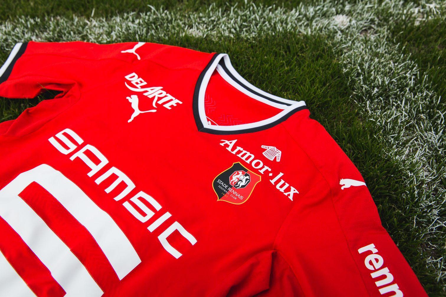 Nueva camiseta del Stade Rennais | Foto Web Oficial