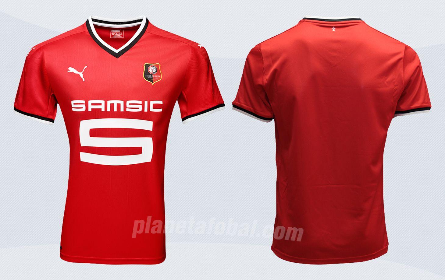 Nueva camiseta del Stade Rennais | Imágenes Web Oficial
