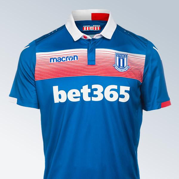 Camiseta suplente del Stoke City | Foto Web Oficial