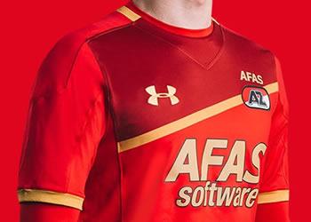 Nueva camiseta titular del AZ Alkmaar | Foto Web Oficial