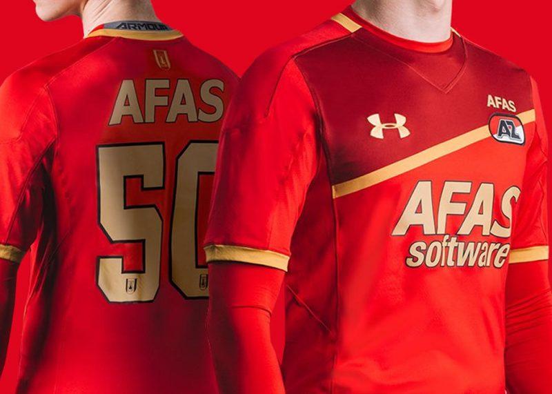 Nueva camiseta titular del AZ Alkmaar   Foto Web Oficial