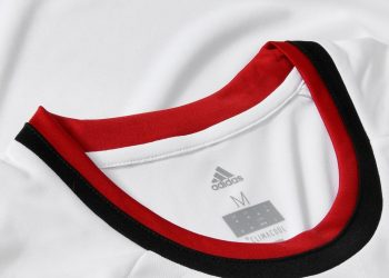 Camiseta suplente Adidas 2017-18 del AC Milan | Foto Web Oficial