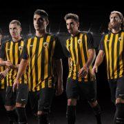 Camiseta titular Nike 2017-18 del AEK   Imagen Web Oficial