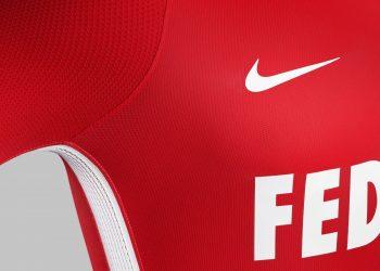 Camiseta titular 2017-18 del AS Monaco | Foto Nike