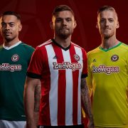 Nuevas camisetas Adidas del Brentford FC   Foto Web Oficial