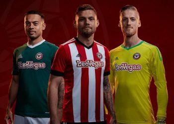 Nuevas camisetas Adidas del Brentford FC | Foto Web Oficial