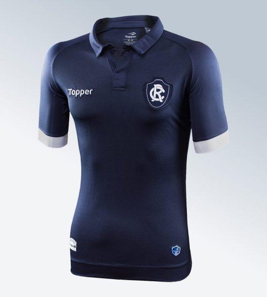 Camiseta titular 2017 del Clube do Remo | Image Gentileza Topper