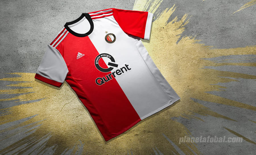 Camiseta titular Adidas 2017-18 del Feyenoord | Foto Web Oficial