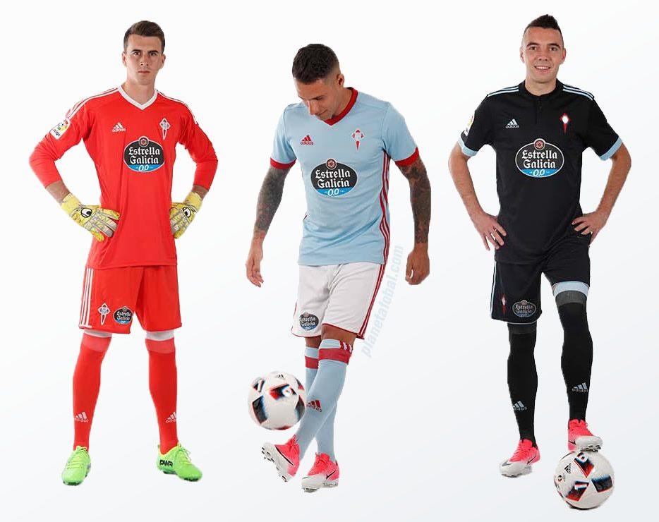 Nuevas camisetas del Celta de Vigo | Foto Web Oficial