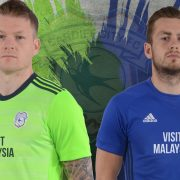 Nueva camisetas Adidas 2017-18 del Cardiff City | Foto Web Oficial