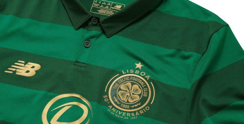 Celtic presentó su camiseta suplente New Balance para la temporada 2017/18